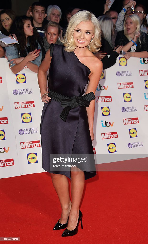 Katherine Jenkins attends the Pride of Britain awards at Grosvenor House, on October 7, 2013 in London, England.