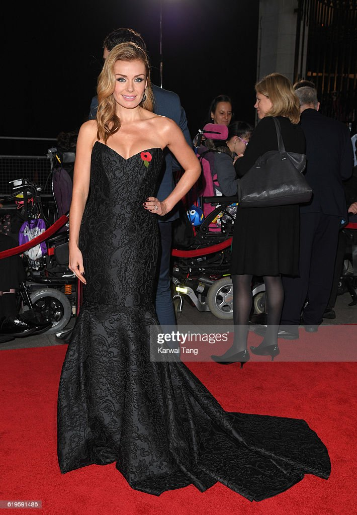Katherine Jenkins attends the Pride Of Britain Awards at The Grosvenor House Hotel on October 31, 2016 in London, England.