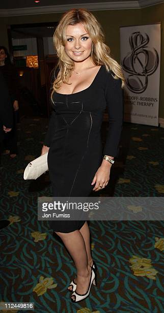 Katherine Jenkins during NordoffRobbins O2 Silver Clef Luncheon 2007 Arrivals at Park Lane Hilton in London Great Britain