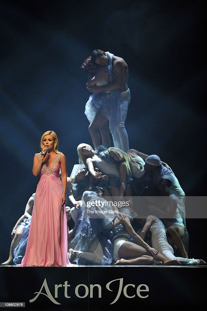 <a gi-track='captionPersonalityLinkClicked' href=/galleries/search?phrase=Katherine+Jenkins&family=editorial&specificpeople=204776 ng-click='$event.stopPropagation()'>Katherine Jenkins</a> performs during Art On Ice at Hallenstadion on February 3, 2011 in Zurich, Switzerland.