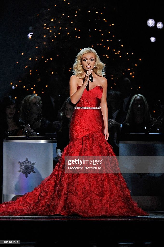 Katherine Jenkins performs during the 2012 Country Christmas at the Bridgestone Arena on November 3, 2012 in Nashville, United States.