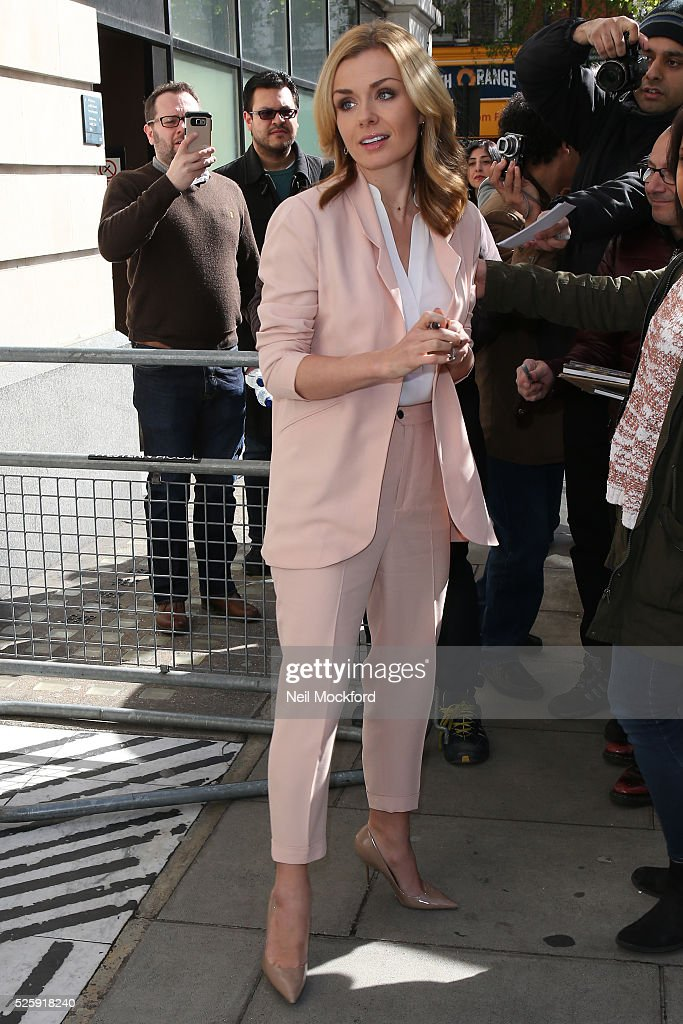 <a gi-track='captionPersonalityLinkClicked' href=/galleries/search?phrase=Katherine+Jenkins&family=editorial&specificpeople=204776 ng-click='$event.stopPropagation()'>Katherine Jenkins</a> seen at BBC Radio 2 on April 29, 2016 in London, England.