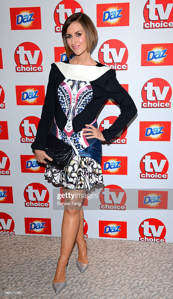 Katherine Kelly attends the TV Choice Awards 2013 at The Dorchester on September 9, 2013 in London, England.