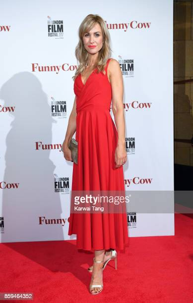 Katherine Kelly attends the World Premiere of 'Funny Cow' during the 61st BFI London Film Festival at the Vue West End on October 9 2017 in London...