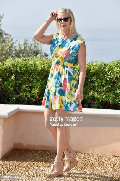 Katherine Kelly Lang apose during a photocall for the TV Show ' The Bold and the Beautiful' as part of the 54th MonteCarlo Television Festival on...