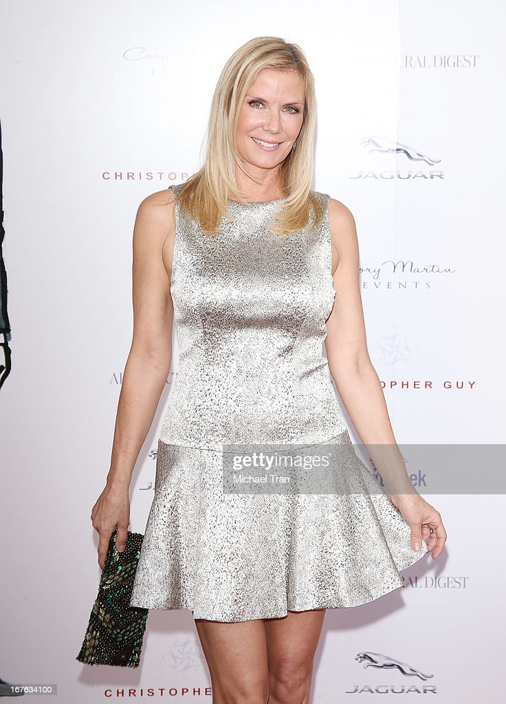 Katherine Kelly Lang arrives at the 7th Annual Britweek: BritWeek Design Icon Award presentation held at Christopher Guy West Hollywood Showroom on April 26, 2013 in West Hollywood, California.