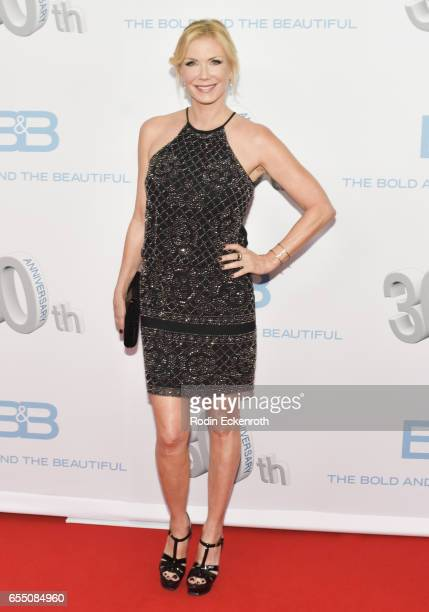 Katherine Kelly Lang attends CBS's 'The Bold and The Beautiful' 30th Anniversary Party at Clifton's Cafeteria on March 18 2017 in Los Angeles...