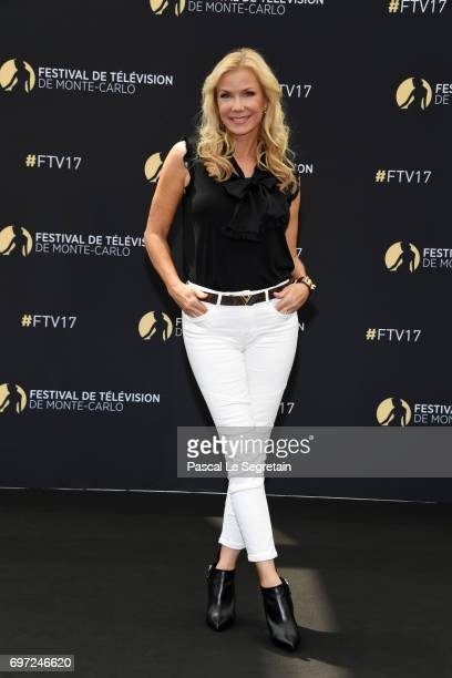 Katherine Kelly Lang from 'The bold and the beautiful' attends a photocall during the 57th Monte Carlo TV Festival Day 3 on June 18 2017 in...