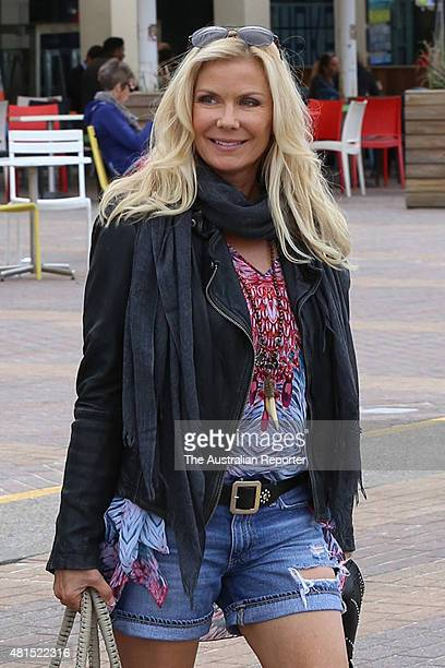 Katherine Kelly Lang is seen at Bondi Beach on July 22 2015 in Sydney Australia