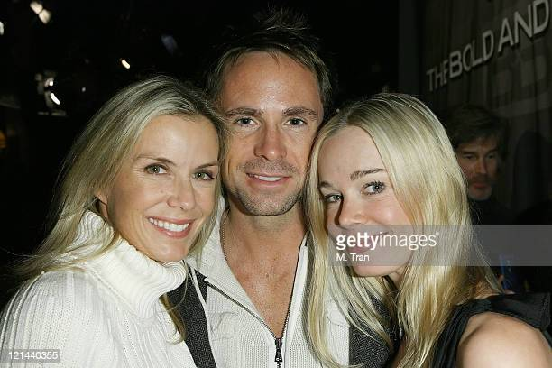 Katherine Kelly Lang William DeVry and Jennifer Gareis