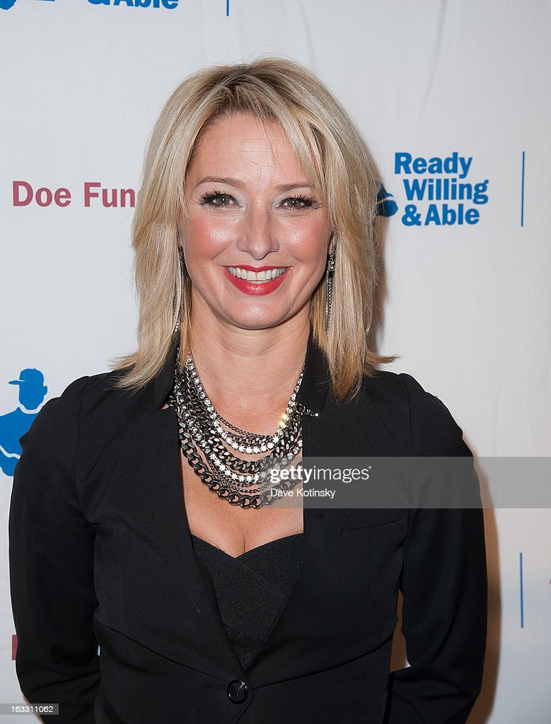 Katherine LaNasa attends the The Doe Fund's Second Annual Sweet: New York at the Classic Car Club on March 7, 2013 in New York City.