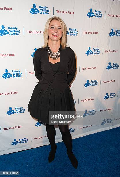 Katherine LaNasa attends the The Doe Fund's Second Annual Sweet New York at the Classic Car Club on March 7 2013 in New York City