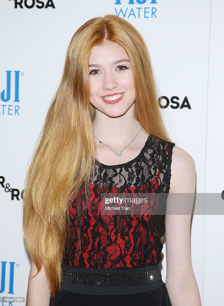 Katherine McNamara arrives at the Los Angeles special screening of 'Ginger & Rosa' held at The Paley Center for Media on November 8, 2012 in Beverly Hills, California.