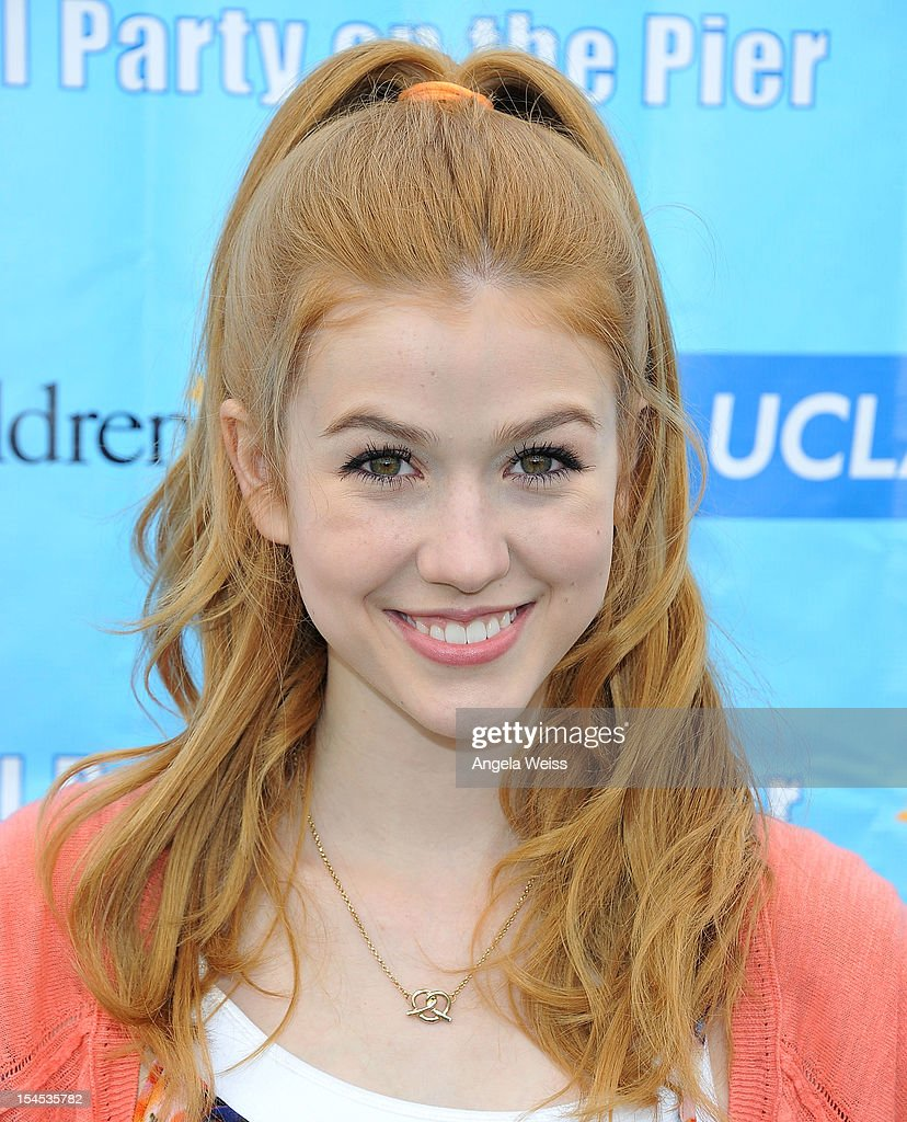 Katherine McNamara arrives to the 'Mattel Party on the Pier' benefiting Mattel Children's Hospital UCLA at Pacific Park on the Santa Monica Pier on October 21, 2012 in Santa Monica, California.