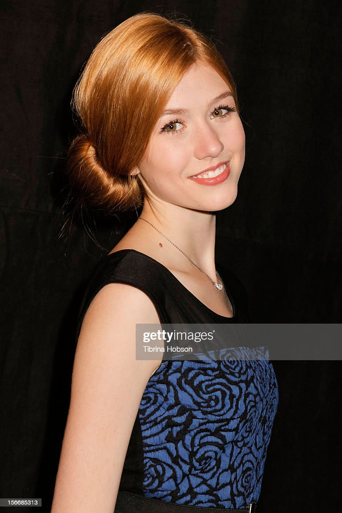 Katherine McNamara attends the 2nd annual Dream Magazine winter wonderland Eevent at TDJ Studios on November 18, 2012 in North Hollywood, California.