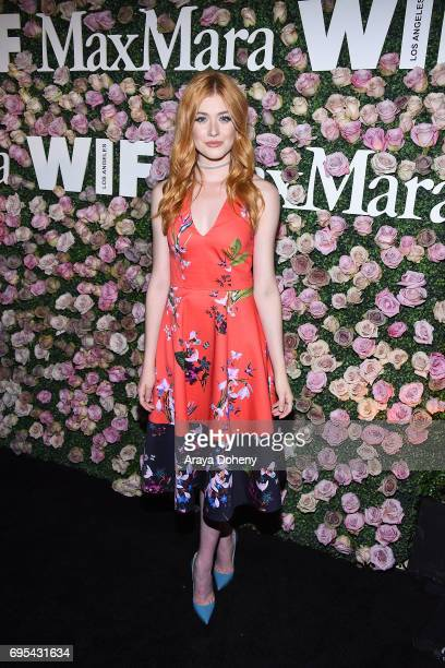 Katherine McNamara attends the Max Mara Celebrates Zoey Deutch As The 2017 Women In Film Max Mara Face Of The Future Award Recipient event at Chateau...
