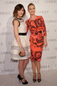 Katherine McPhee and Emily VanCamp attend the Dramatically Different Party hosted by Clinque at 620 Loft Garden on June 18 2013 in New York City