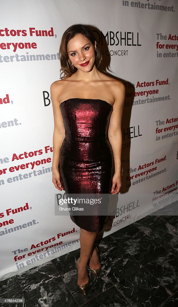 Katherine McPhee of the cast of NBC's 'Smash' reunite for The Actors Fund of America presents 'Bombshell The Marilyn Monroe Musical' special event...
