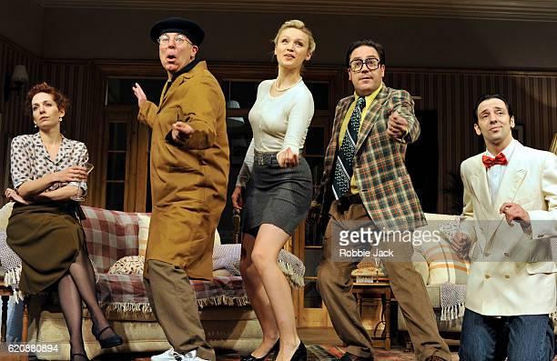 Katherine Parkinson as Eleanor Steve Pemberton as Brian Emily Berrington as Lisa Rufus Jones as Richard and Ralf Little as Nick in Terry Johnson's...