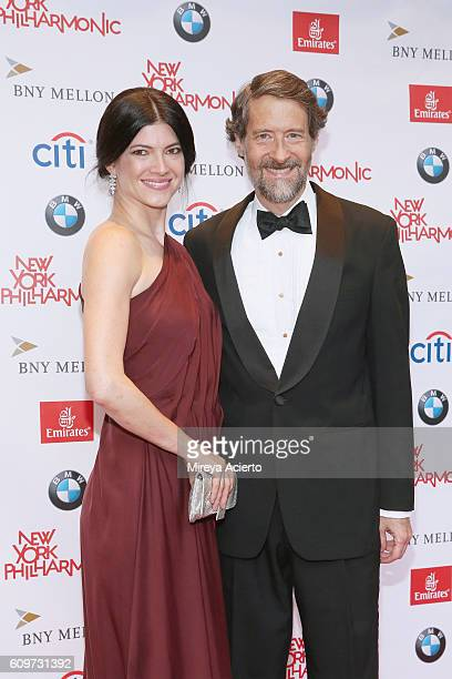 Katherine Parr and Gary Parr attend the Opening Gala Concert of the 175th Season New York Philharmonic at David Geffen Hall on September 21 2016 in...