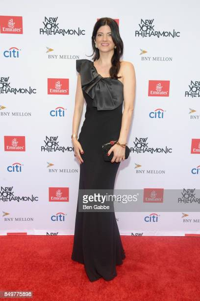 Katherine Parr attends the New York Philharmonic 106 AllStars Opening Gala at David Geffen Hall on September 19 2017 in New York City