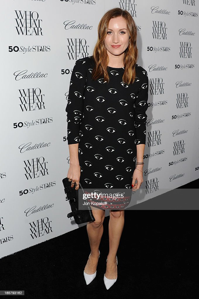 Katherine Power arrives at Who What Wear And Cadillac's 50 Most Fashionable Women Of 2013 at The London Hotel on October 24, 2013 in West Hollywood, California.