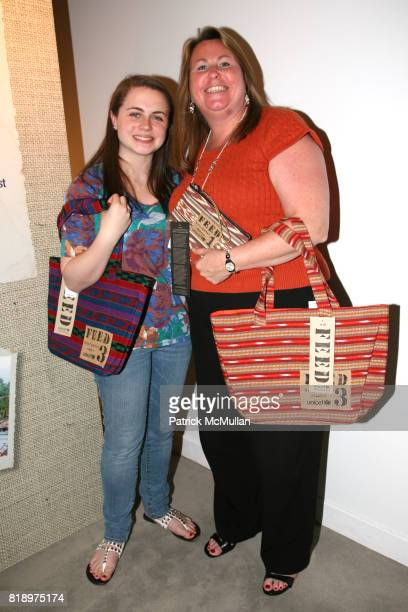 Katherine Reda and Amy Reda attend LORD TAYLOR Mother/Daughter Tea for FEED with LAUREN BUSH and ELLEN GUSTAFSON at Lord Taylor on May 7 2010 in New...