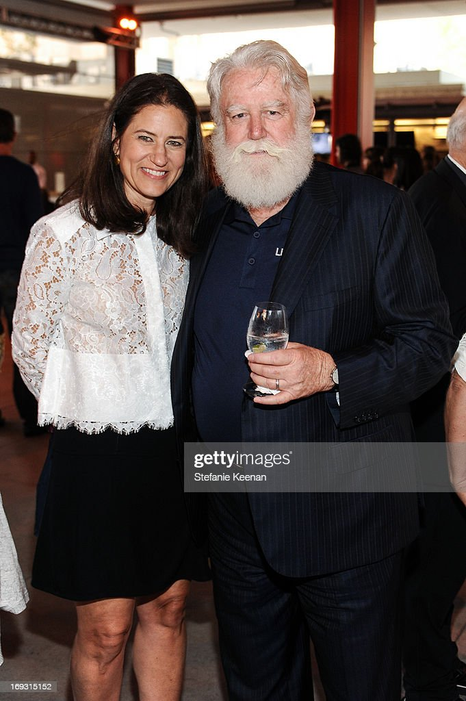 Katherine Ross and James Turrell attend LACMA Celebrates Opening Of James Turrell A Retrospective at LACMA on May 22 2013 in Los Angeles California