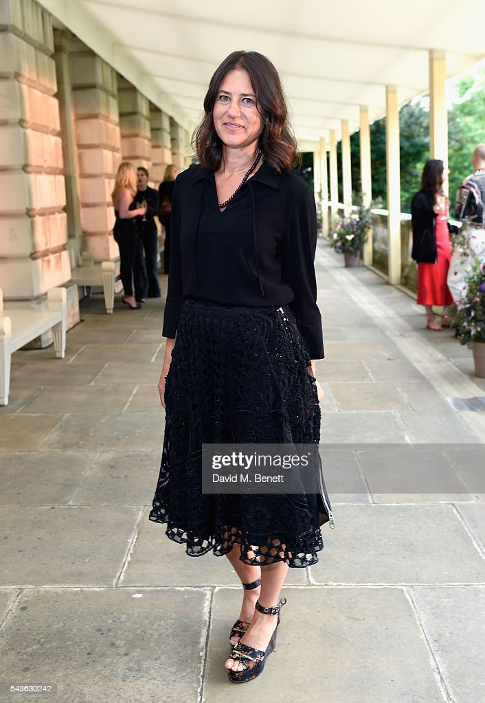 Katherine Ross attends the Creatures of the Wind Resort 2017 collection and runway show presented by Farfetch at Spencer House on June 29, 2016 in London, England.