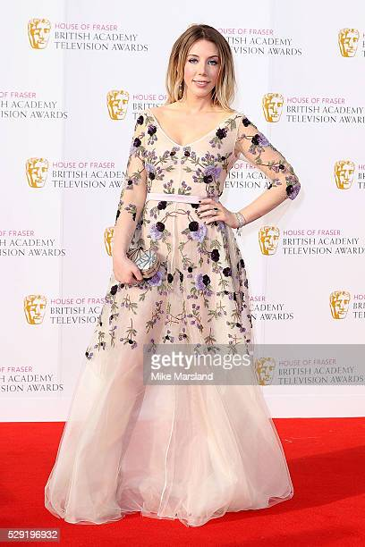 Katherine Ryan arrives for the House Of Fraser British Academy Television Awards 2016 at the Royal Festival Hall on May 8 2016 in London England