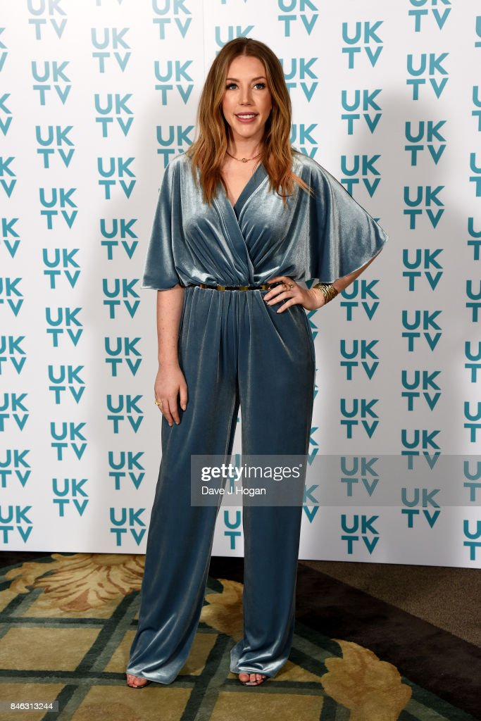 Katherine Ryan attends the UKTV Live 2017 photocall at Claridges Hotel on September 13, 2017 in London, England. Broadcaster announces it's programs for the forthcoming season.