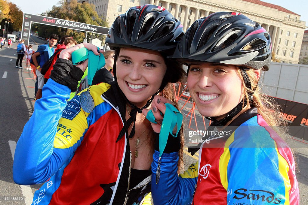 <a gi-track='captionPersonalityLinkClicked' href=/galleries/search?phrase=Katherine+Schwarzenegger&family=editorial&specificpeople=962036 ng-click='$event.stopPropagation()'>Katherine Schwarzenegger</a> and Eunice Shriver attend the Audi Best Buddies Challenge: Washington, D.C. on October 20, 2012 in Washington, DC.