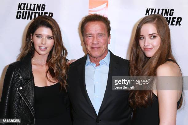 Katherine Schwarzenegger Arnold Schwarzenegger and Christina Schwarzenegger attends the Premiere Of Saban Films' 'Killing Gunther' at TCL Chinese...