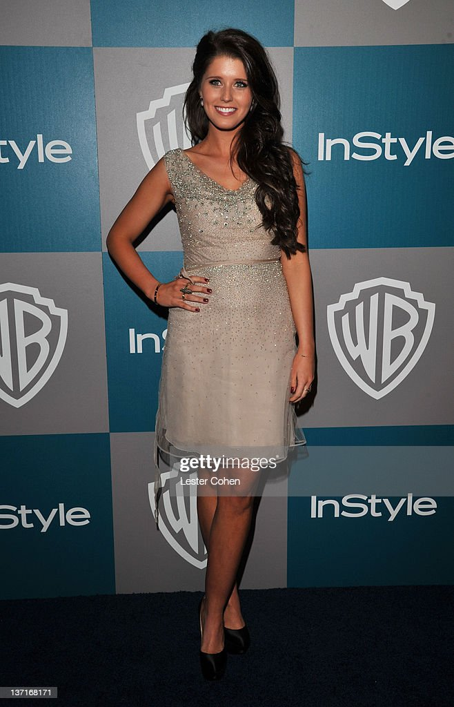 <a gi-track='captionPersonalityLinkClicked' href=/galleries/search?phrase=Katherine+Schwarzenegger&family=editorial&specificpeople=962036 ng-click='$event.stopPropagation()'>Katherine Schwarzenegger</a> arrives at the 13th Annual Warner Bros. and InStyle Golden Globe After Party held at The Beverly Hilton hotel on January 15, 2012 in Beverly Hills, California.