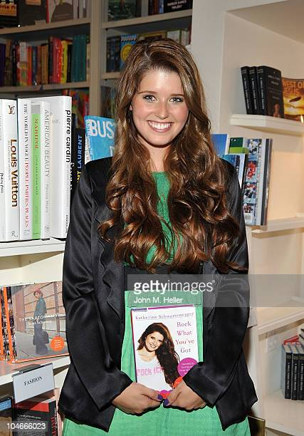 Katherine Schwarzenegger signs copies of her new book 'Rock What You've Got Secrets to Loving Your Inner and Outer Beauty from Someoone Whose Been...