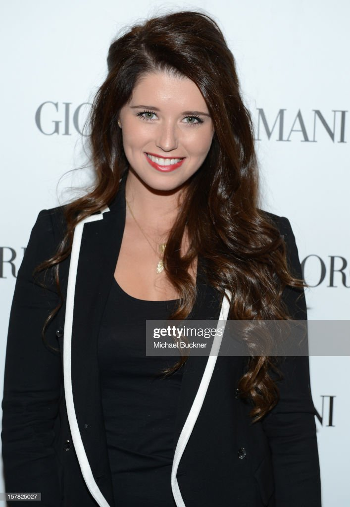 Katherine Schwarzenegger, wearing Emporio Armani attends the Giorgio Armani Beauty Luncheon on December 6, 2012 in Beverly Hills, California.
