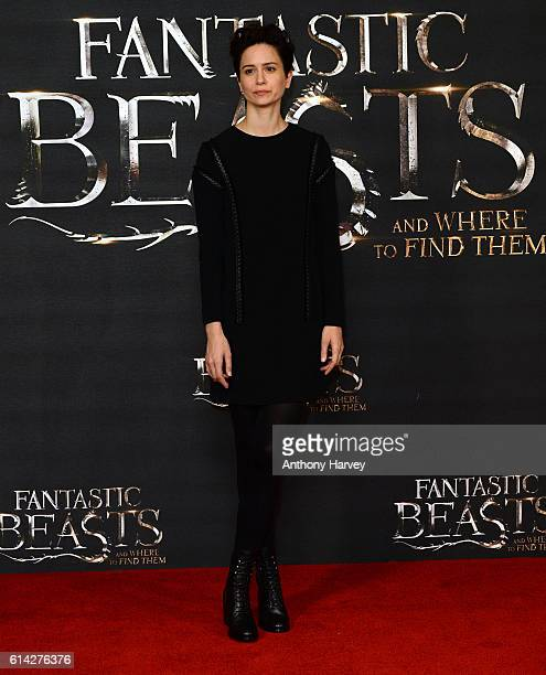 Katherine Waterston attends a photocall for 'Fantastic Beast And Where To Find Them' at May Fair Hotel on October 13 2016 in London England