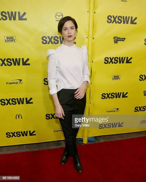 Katherine Waterston attends a screening of the 1979 film Alien with previews of the new Alien Covenant at the Paramount Theater during the South By...