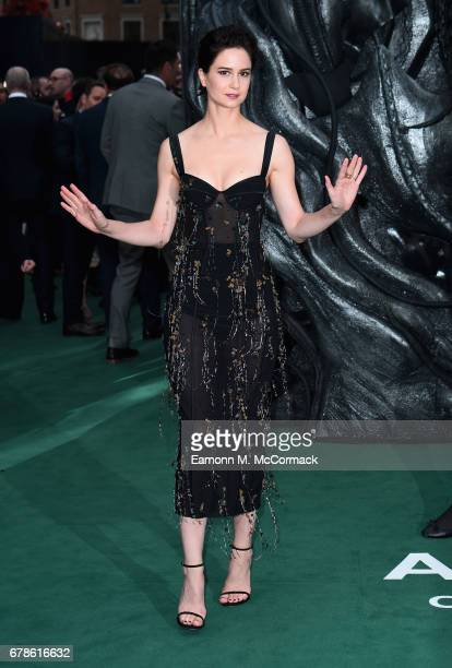 Katherine Waterston attends the 'Alien Covenant' World Premiere at the Odeon Leicester Square on May 4 2017 in London England