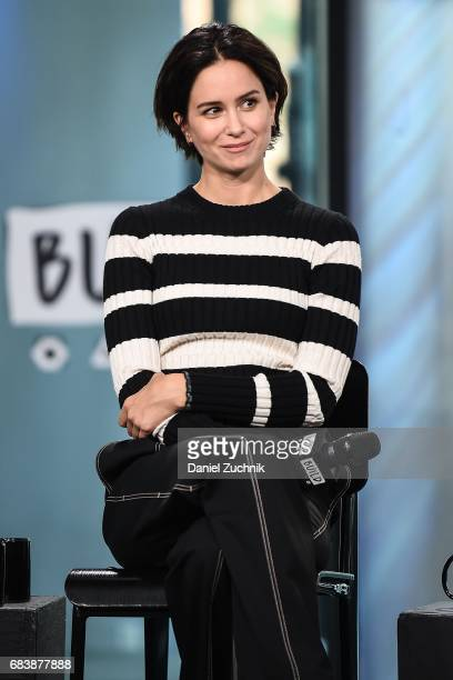 Katherine Waterston attends the Build Series to discuss the movie 'Alien Covenant' at Build Studio on May 16 2017 in New York City