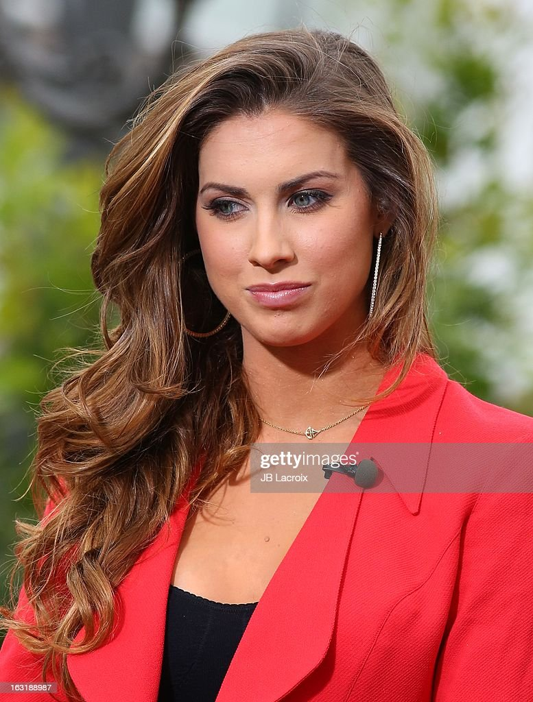 Katherine Webb is seen at The Grove on March 5, 2013 in Los Angeles, California.
