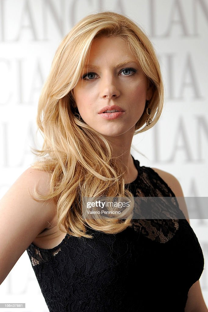Katheryn Winnick attends the 7th Rome Film Festival at Lancia Cafe on November 15, 2012 in Rome, Italy.