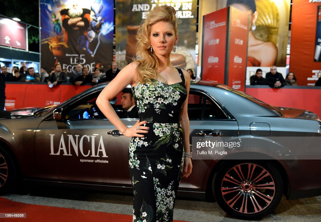 <a gi-track='captionPersonalityLinkClicked' href=/galleries/search?phrase=Katheryn+Winnick&family=editorial&specificpeople=663983 ng-click='$event.stopPropagation()'>Katheryn Winnick</a> attends the 'A Glimpse Inside The Mind Of Charles Swan III' premiere during the 7th Rome Film Festival on November 15, 2012 in Rome, Italy.