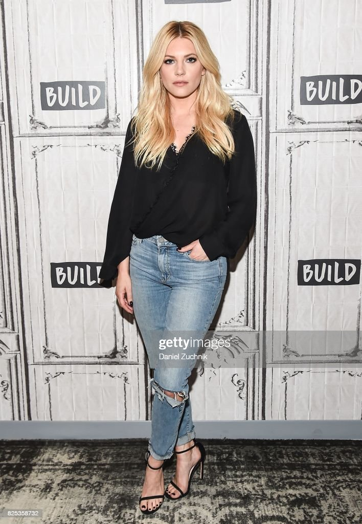 Build Presents Katheryn Winnick  Discussing Her New Projects