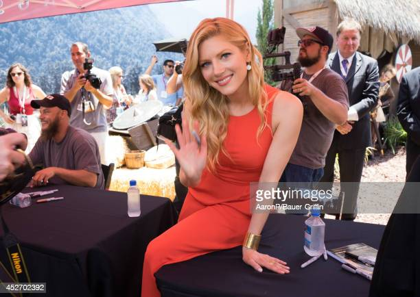Katheryn Winnick is seen at fan meet and greet at ComicCon on July 25 2014 in San Diego California