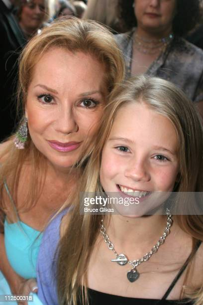 Kathie Lee Gifford and daughter Cassidy Gifford during Opening Night for 'Chitty Chitty Bang Bang' on Broadway Arrivals at The Hilton Theater in New...