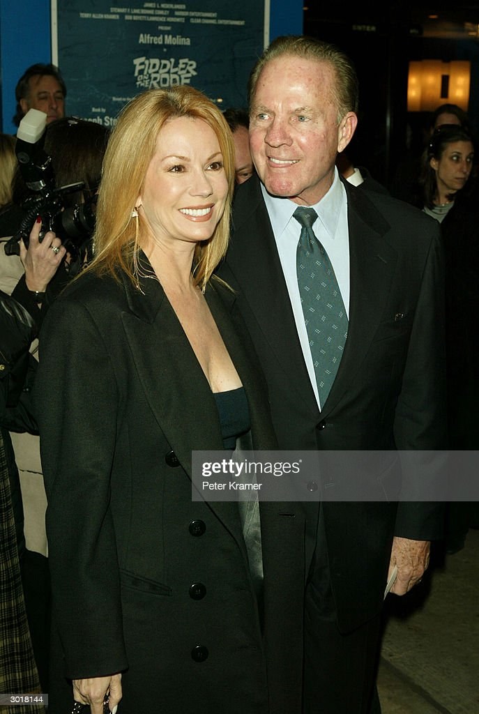 Kathie Lee Gifford And Frank Gifford Attend The Play Opening Of U0027Fiddler On  The Roof
