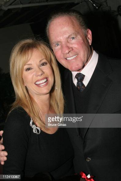Kathie Lee Gifford and Frank Gifford during Kathie Lee Gifford's New Musical 'Under The Bridge' Opening Night Afterparty at The Zipper Theater in New...