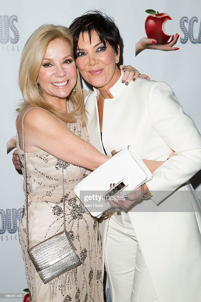 <a gi-track='captionPersonalityLinkClicked' href=/galleries/search?phrase=Kathie+Lee+Gifford&family=editorial&specificpeople=203269 ng-click='$event.stopPropagation()'>Kathie Lee Gifford</a> and <a gi-track='captionPersonalityLinkClicked' href=/galleries/search?phrase=Kris+Jenner&family=editorial&specificpeople=762610 ng-click='$event.stopPropagation()'>Kris Jenner</a> attend the 'Scandalous' Broadway Opening Night' at Neil Simon Theatre on November 15, 2012 in New York City.