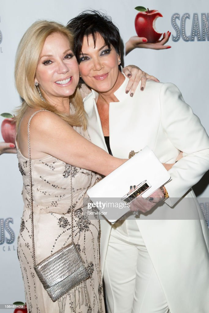 Kathie Lee Gifford and Kris Jenner attend the 'Scandalous' Broadway Opening Night' at Neil Simon Theatre on November 15, 2012 in New York City.